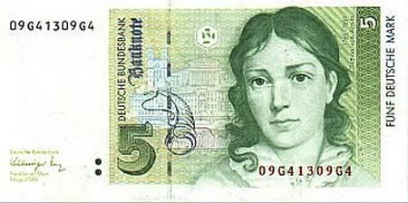 BRD 5 Deutsche Mark